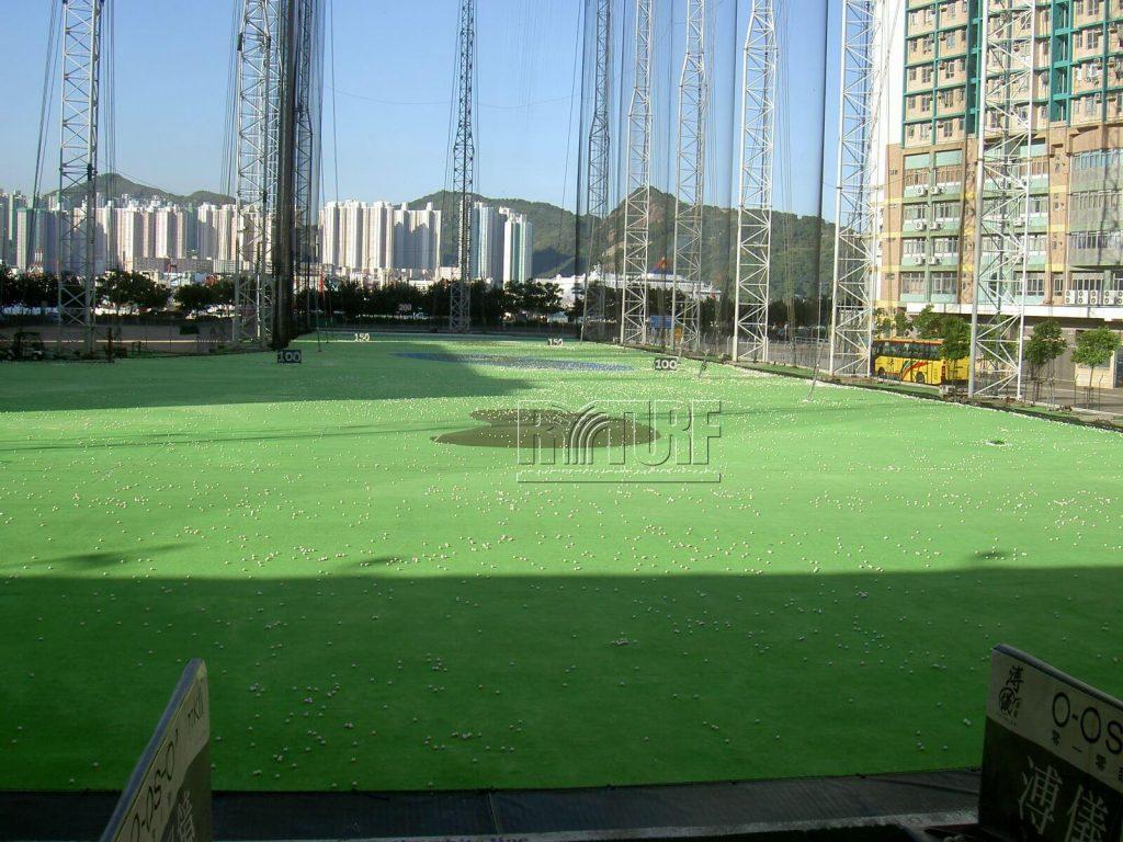 Hong Kong artificial grass golf driving range
