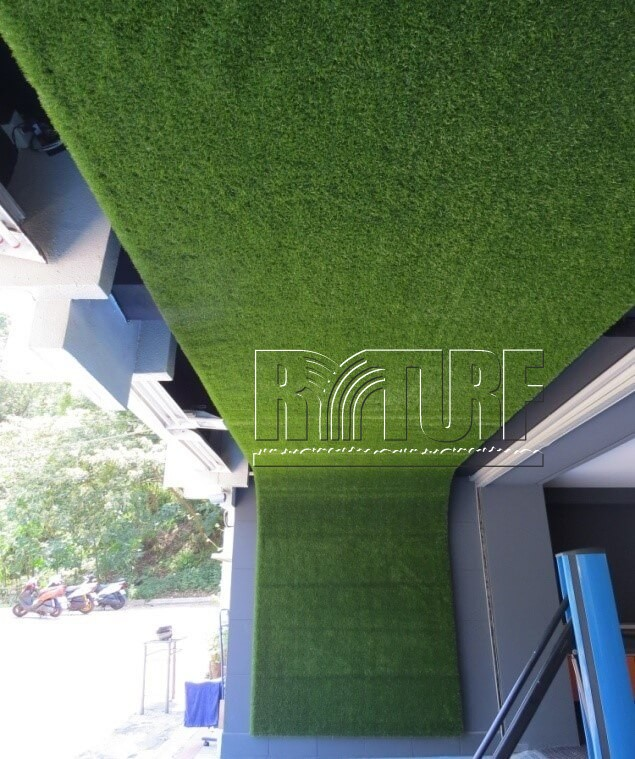 Taipei Donghu Golf Driving Range Wall Artificial Turf