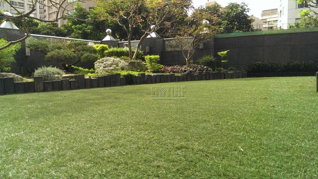 Taipei Mansion house Artificial Turf Landscape