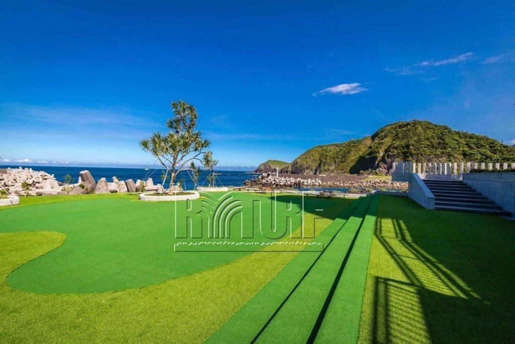 Yilan Nan'ao Artificial Grass Green Landscape