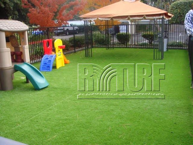 American customer artificial turf Playground